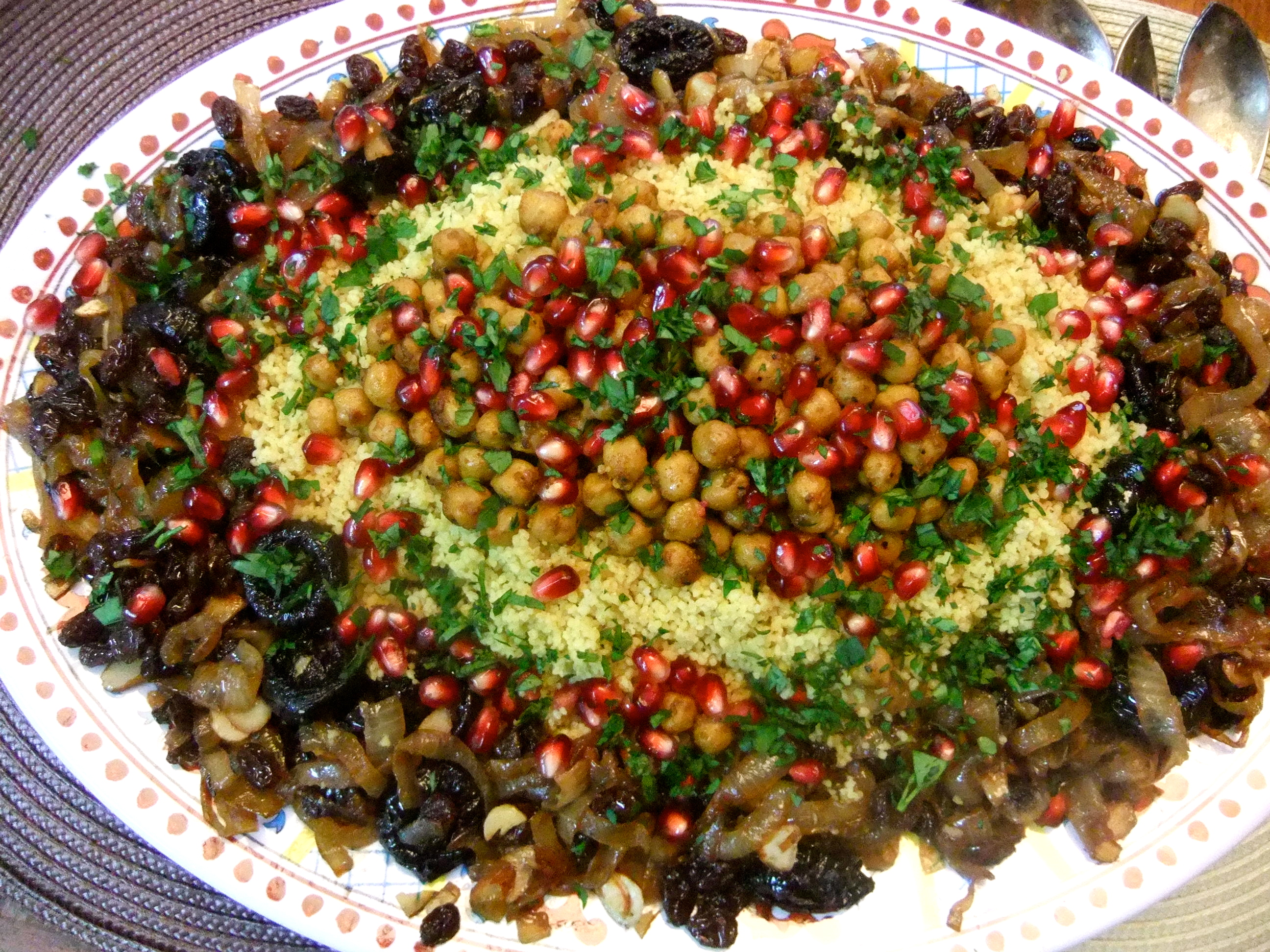 Sweet and savory moroccan couscous may i have that recipe an error occurred forumfinder Images