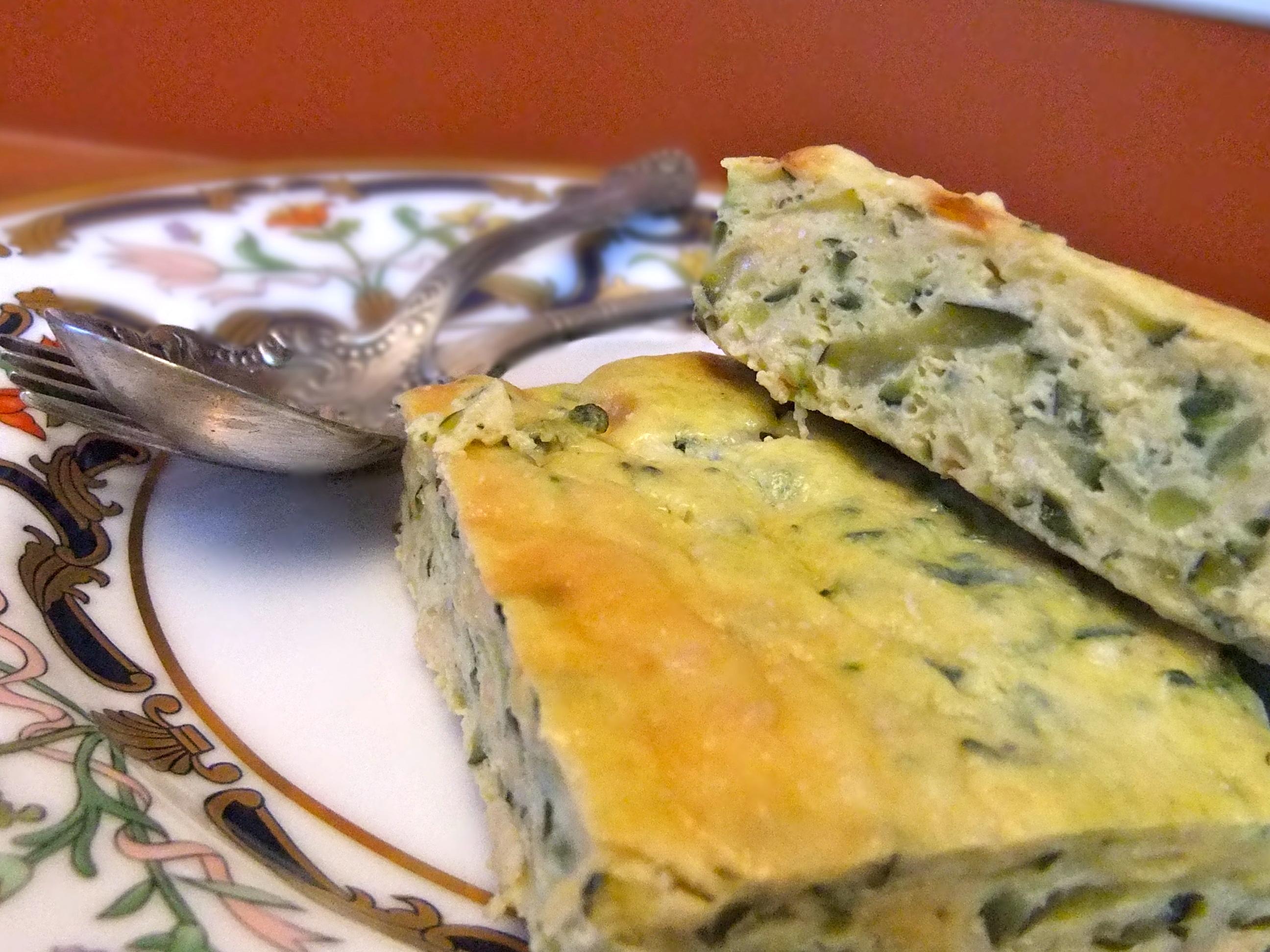 Zucchini Frittata Recipe — Dishmaps