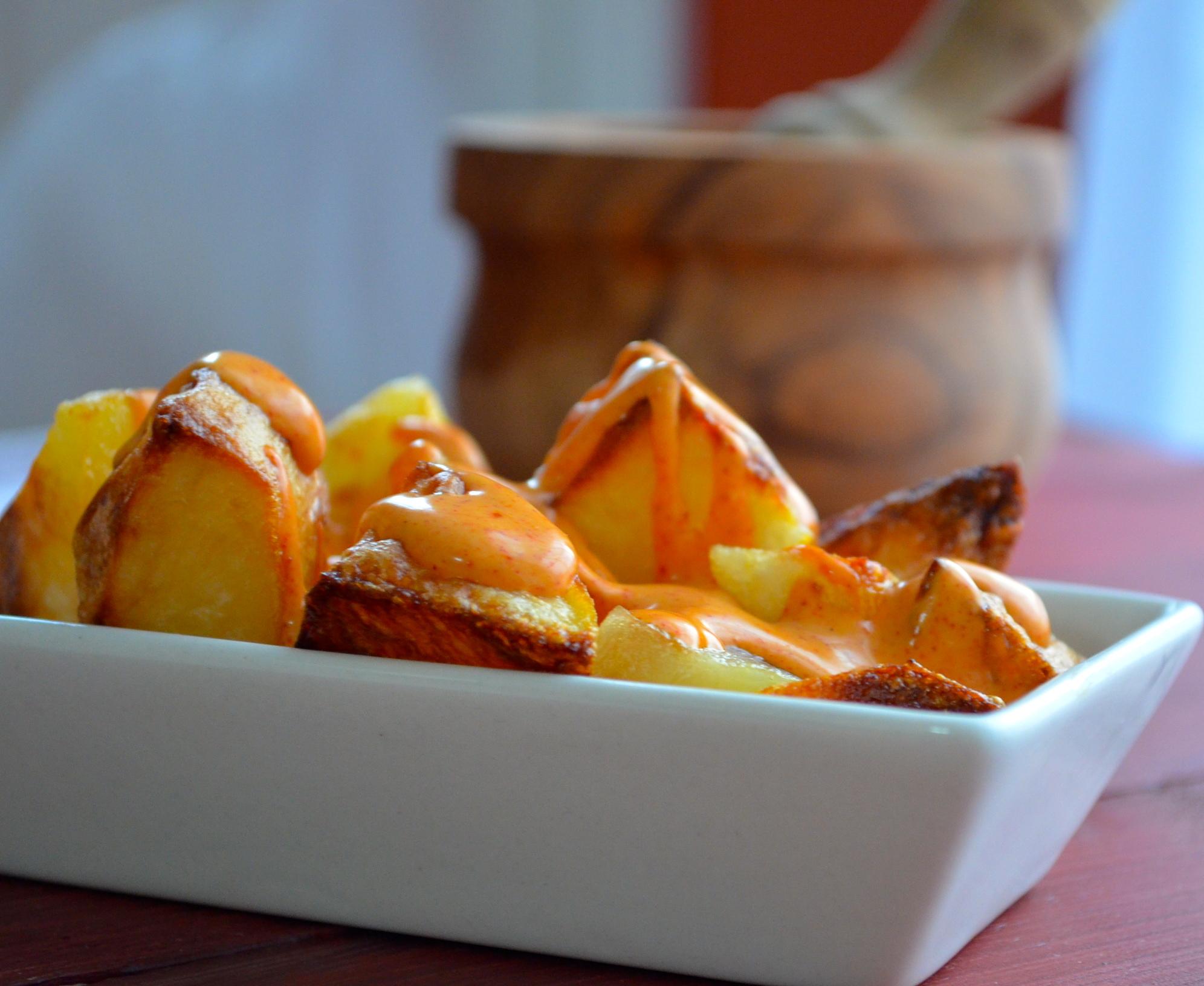 patatas bravas tapas