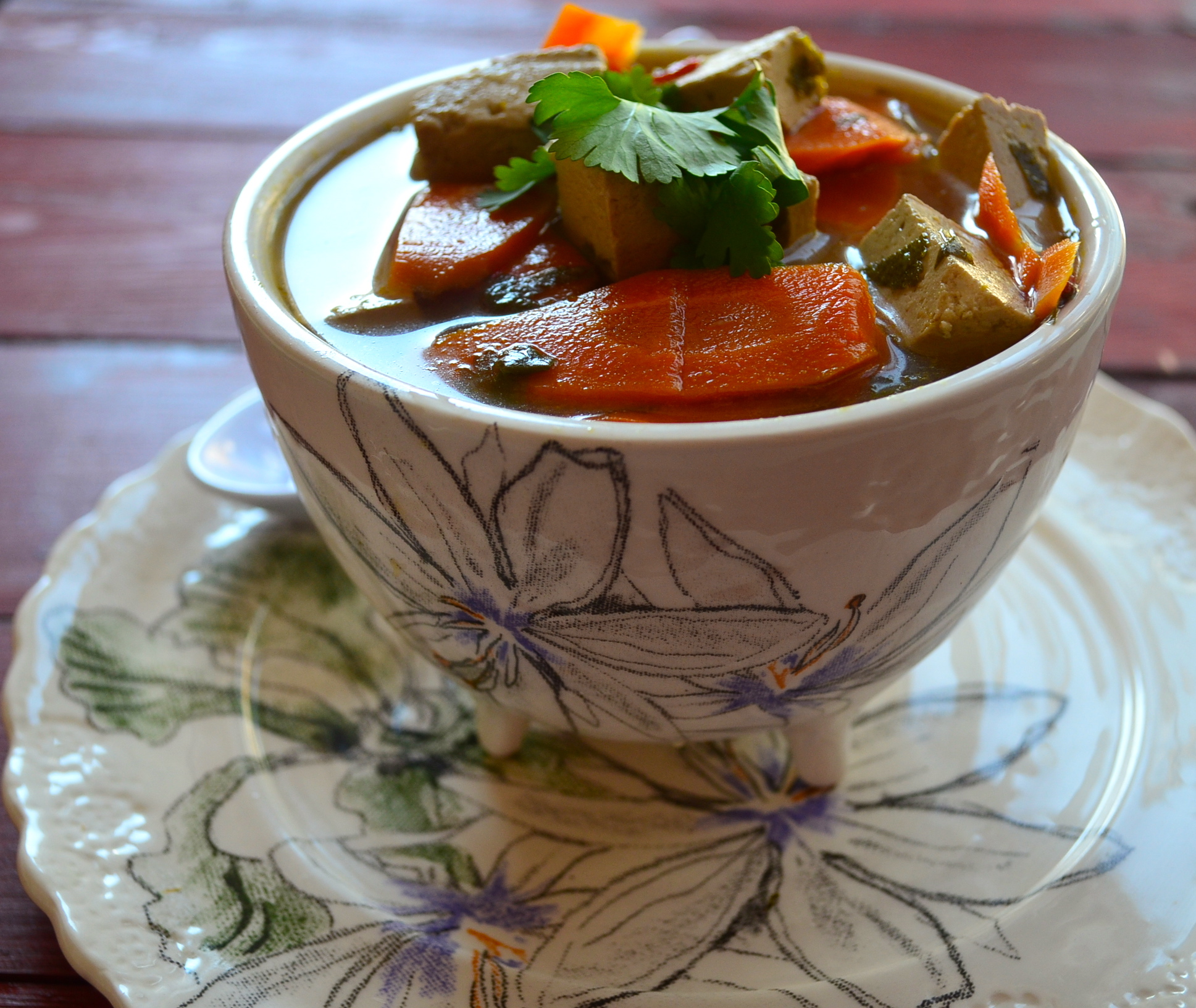 how to make different vegetarian soups