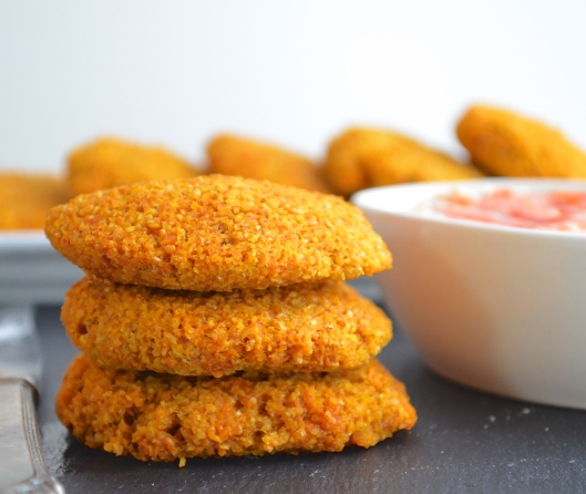 Bulgur Wheat Patties  with  spicy tahini sauce Recipe