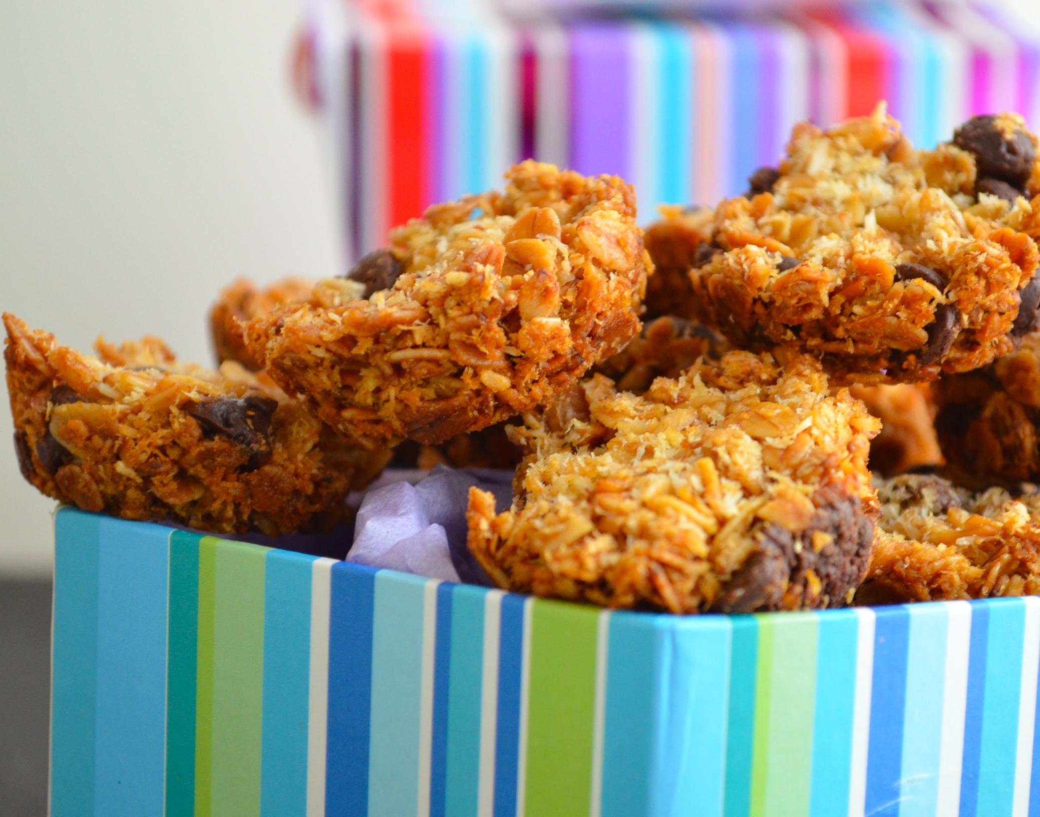 Gluten Free coconut granola bites recipe