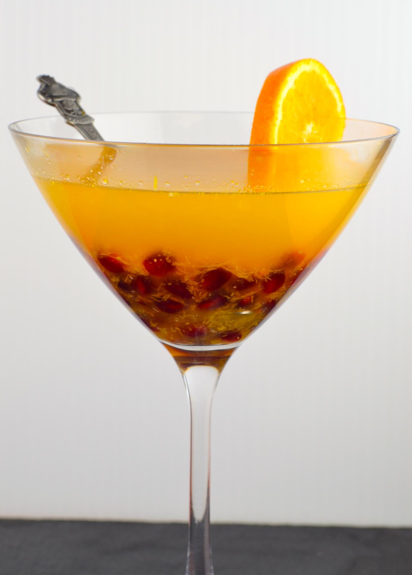 citrus arak cocktail