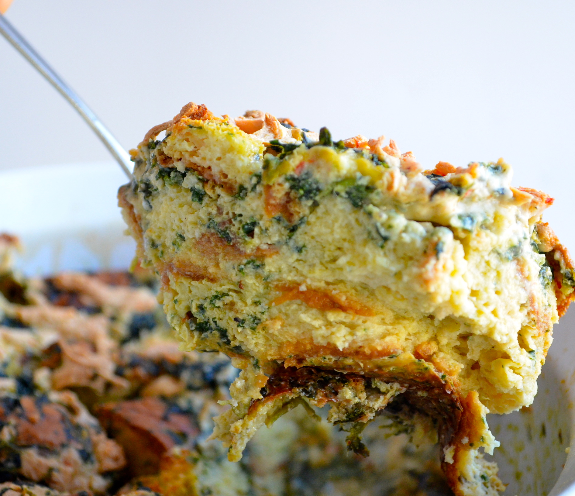 free savory bread savory oat breakfast bake savory bread pudding the ...