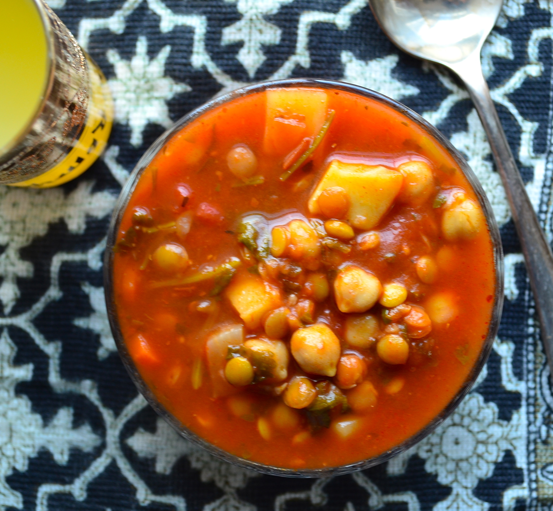 "Meatless Monday - Moroccan Style Vegetable Soup (""Harira"") - May I ..."
