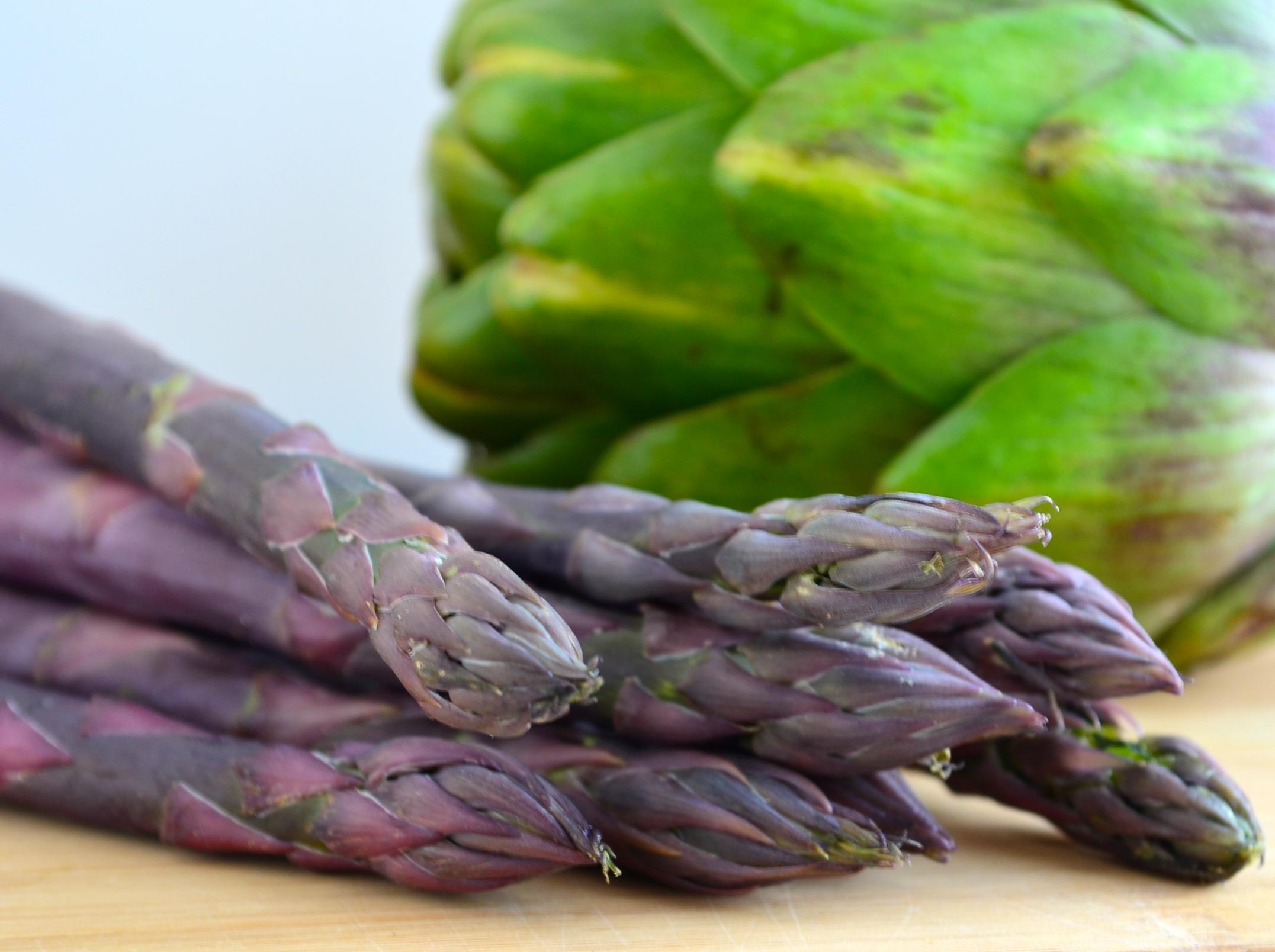 purple asparragus